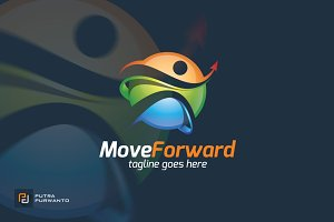 Move Forward - Logo Template