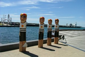 Geelong waterfront - Bollards