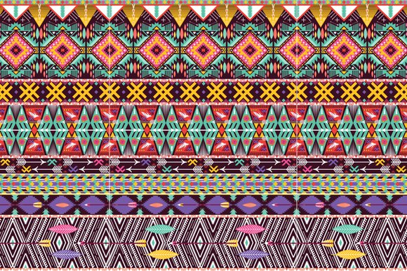 Collection Bright Aztec Patterns in Patterns - product preview 2