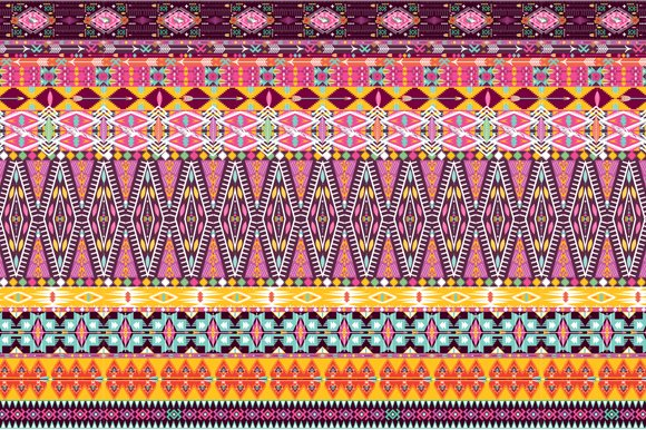 Collection Bright Aztec Patterns in Patterns - product preview 3