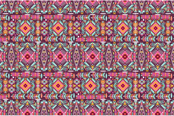 Collection Bright Aztec Patterns in Patterns - product preview 4