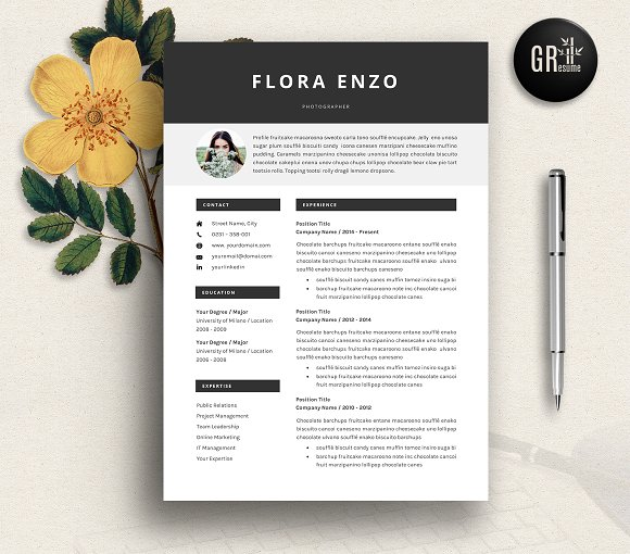 Resume Template | CV Template - 15