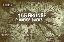 115 Grunge Photoshop Brushes