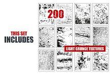 200 Light Grunge Textures