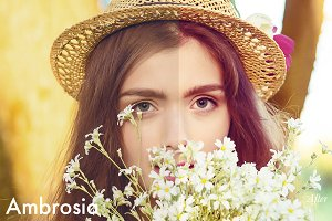 Ambrosia - Photoshop Action