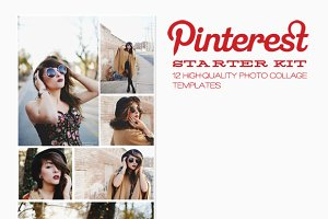 Pinterest or Blog Templates - 12pack