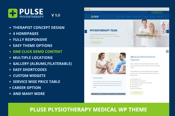 Pulse-Physiotherapy Medical WP Theme