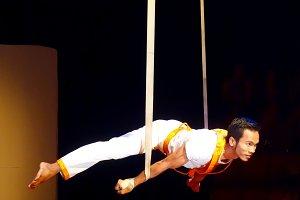 Circus performer - Phare, Cambodia