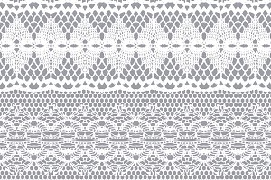 6 Lacy seamless vector patterns