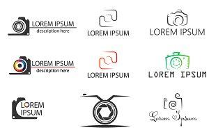 9 logos for photographer.