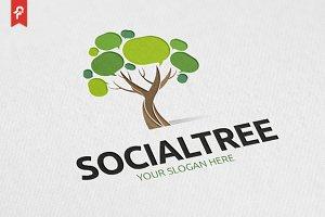 Social Tree Logo