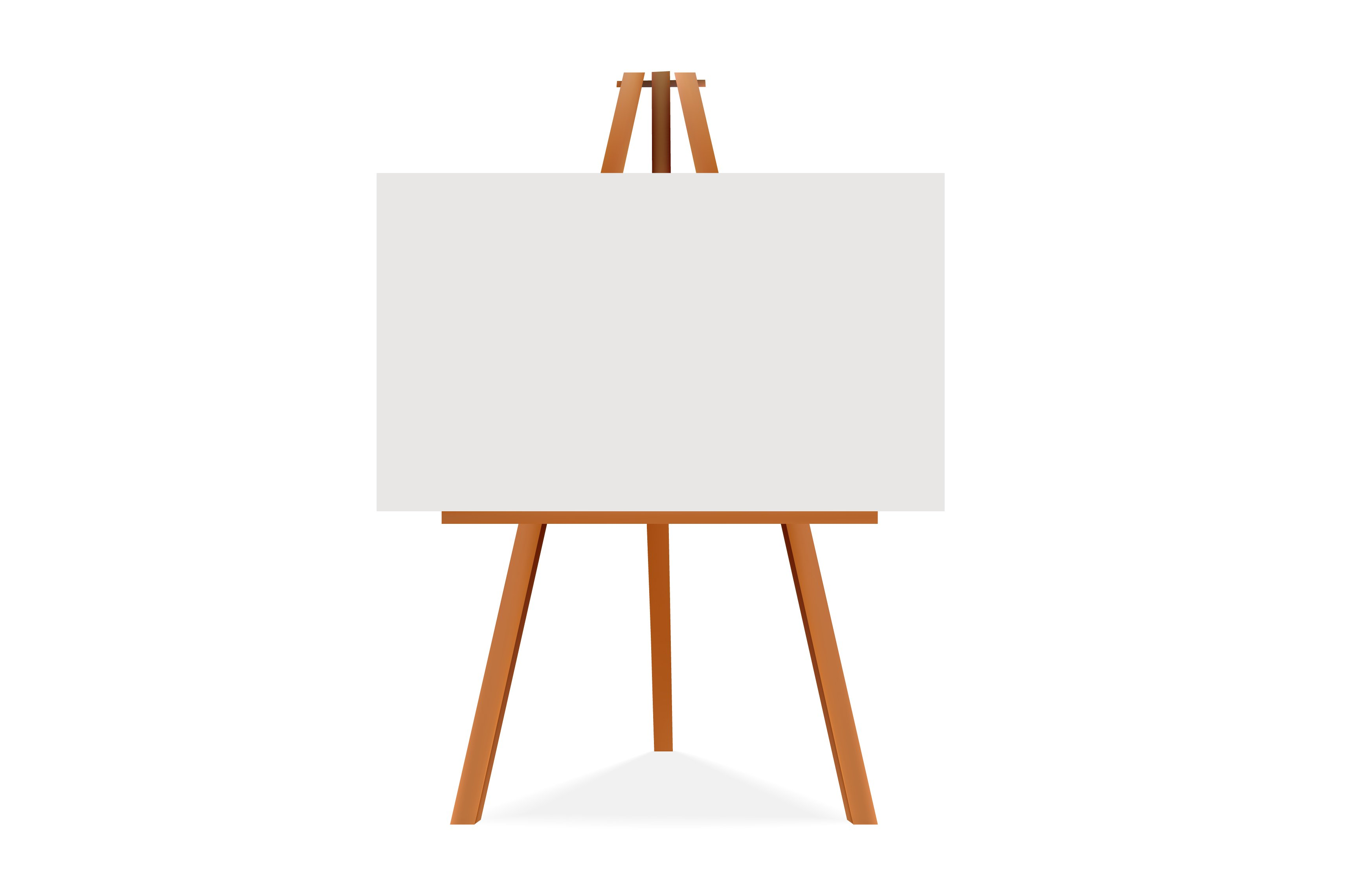 easel illustration graphics creative market