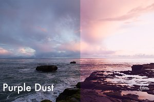 Purple Dust - Photoshop Action