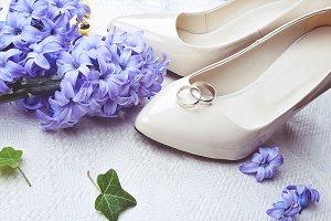 Heels and wedding ring
