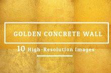 10 Images Golden Concrete Wall