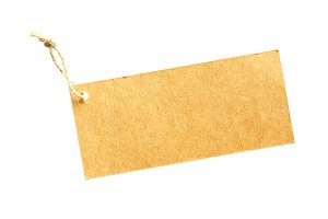 Paper hanging tag