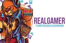 RealGamer Illustration