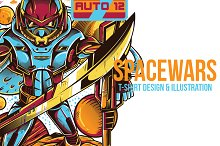 SpaceWars Illustration