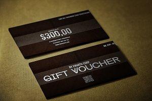 Black style Gift Voucher