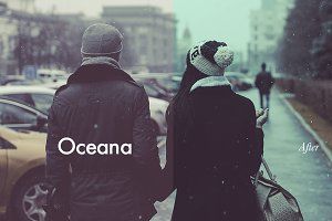 Oceana - Photoshop Action