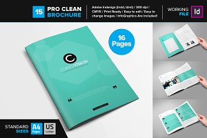 Clean Brochure Template 12