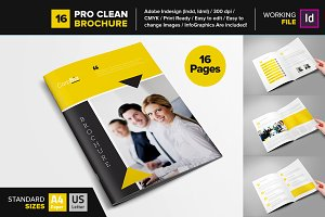 Clean Brochure Template 16