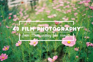 40 Film Photography Bundle
