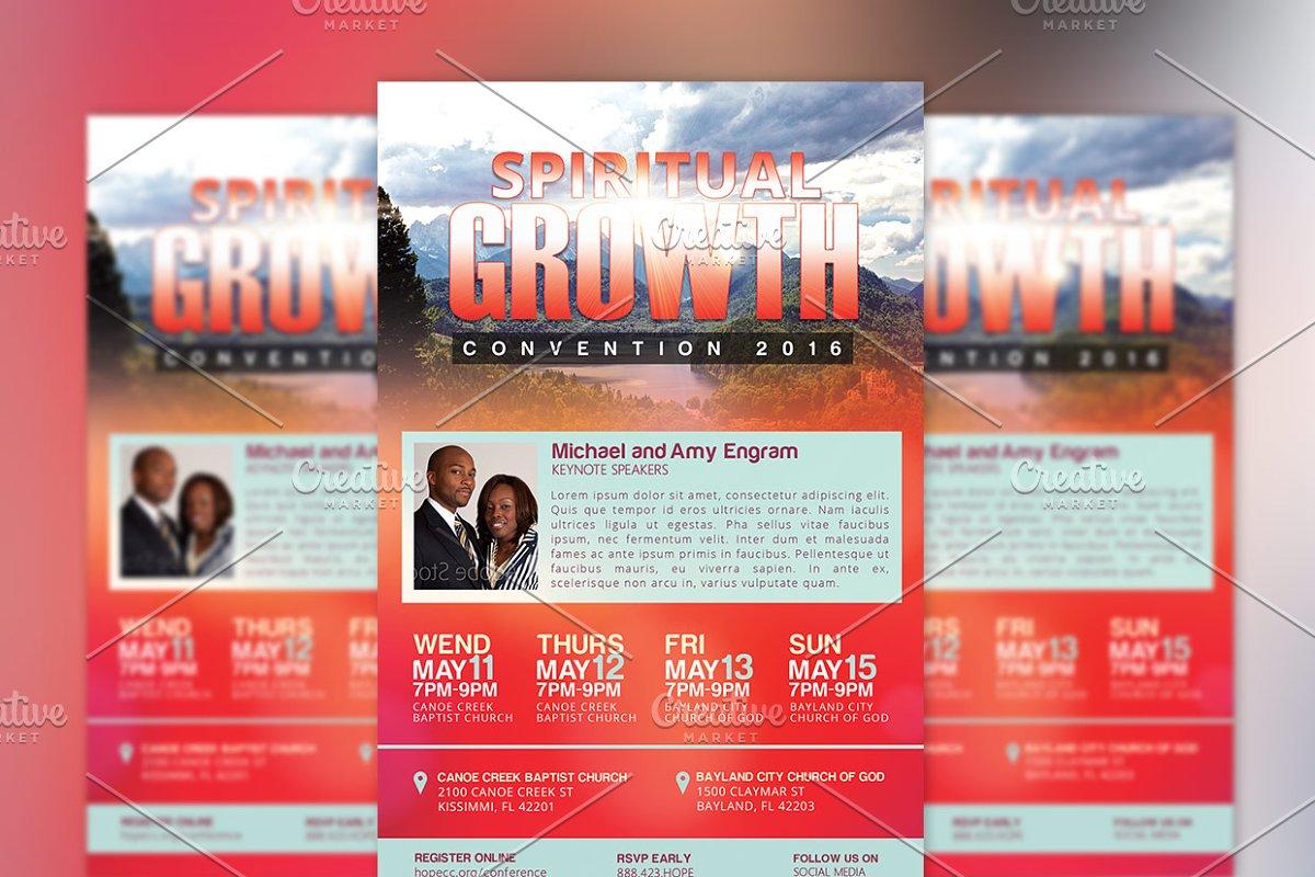 Church Convention Flyer Template ~ Flyer Templates ~ Creative Market