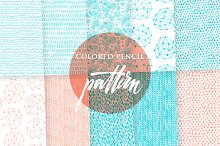 Colored pencil paper pack