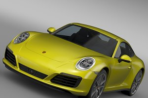 Porsche 911 Carrera 4 Coupe 991 2016