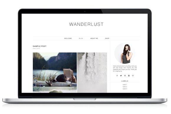 Responsive WP Theme - Wanderlust