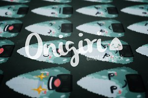 Onigiri // Emoticon Pack