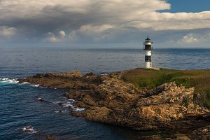 Illa Pacha lighthouse, Spain