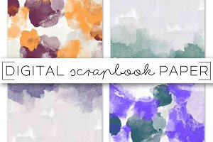 Abstract Paint Digital Paper