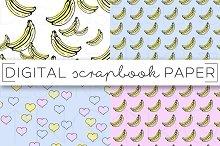 Bananas Digital Paper