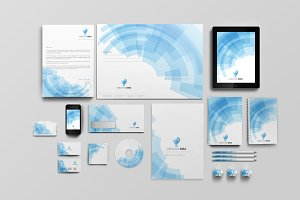 Creative Idea Corporate Identity set