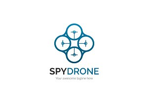 Spy Drone Logo