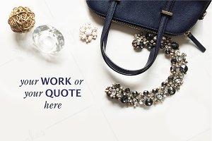 Styled stock photography - Handbag