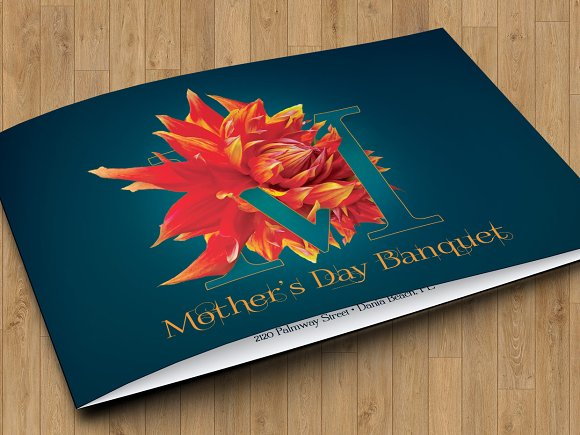 mothers day banquet invitation templates creative market
