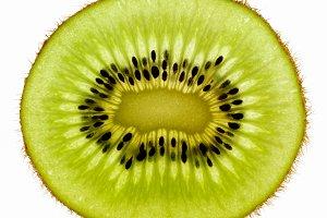 Kiwi fruit portion