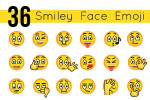 Emoticons Smiley Face Emoji Icons