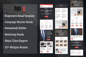 PAY-U Responsive Email Template