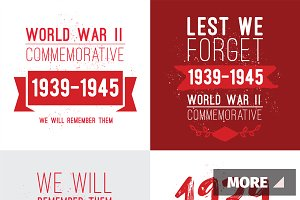 World war II commemorative day.