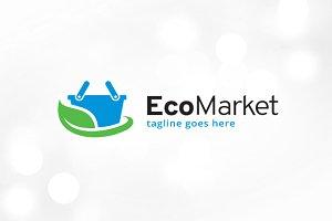Eco Market Logo Template