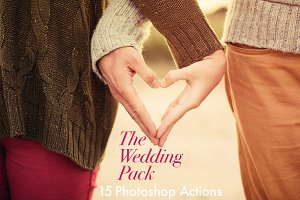 The Wedding Pack-15 Photoshop Action