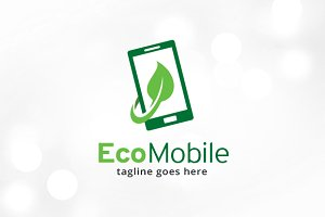 Eco Mobile Logo Template