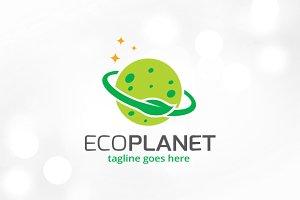 Eco Planet Logo Template
