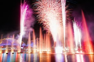 Sydney Firework at Harbor