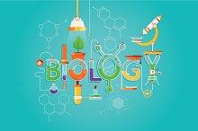 Inscription of Biology science