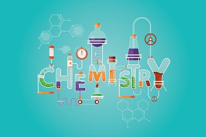 Inscription of Chemistry science